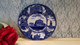 Antique Flow Blue England, Historical Views of Richmond VA State Capital... - $64.99