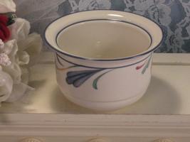 Vintage Lenox China Chinastone Poppies Sugar Bottom, No Lid, 1980s Mid C... - $19.99