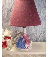 Antique Vintage Germany Porcelain or China Figurine Lamp Colonial Victorian - $49.99