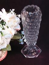 Vintage Fostoria American Crystal Bud Flower Vase, 1915-1980s Elegant De... - $24.99
