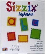 Sizzix Alphabars Vowel Play Alphabet Set 38-1092 - £32.29 GBP