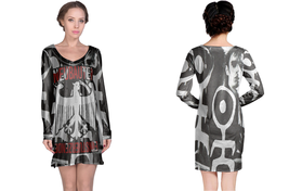 Einstürzende Neubauten  Full print 3D All Over Print Long Sleeve Night Gown - $18.99+