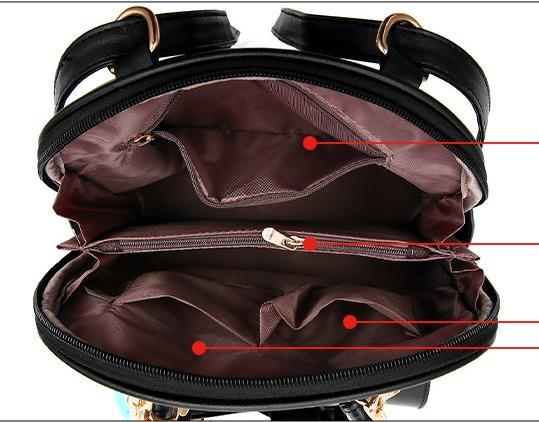 Free Shipping Mixed Color School Backpacks Bookbags Medium Backpacks H126-5 image 4