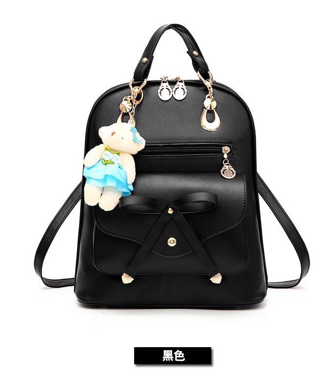 Free Shipping Mixed Color School Backpacks Bookbags Medium Backpacks H126-5 image 5