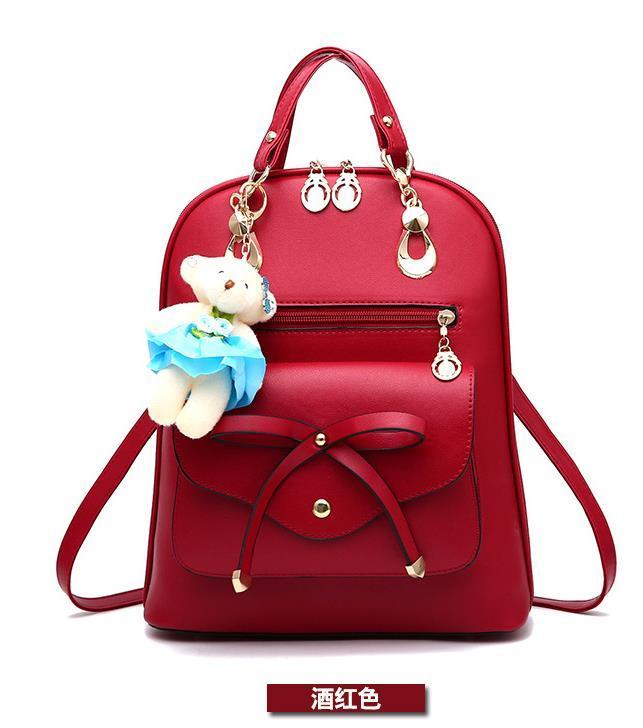 Free Shipping Mixed Color School Backpacks Bookbags Medium Backpacks H126-5