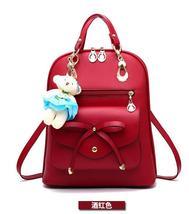 Free Shipping Mixed Color School Backpacks Bookbags Medium Backpacks H126-5 image 1
