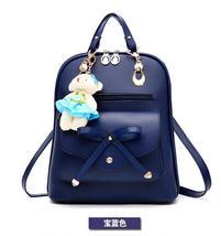 Free Shipping Mixed Color School Backpacks Bookbags Medium Backpacks H126-5 image 2