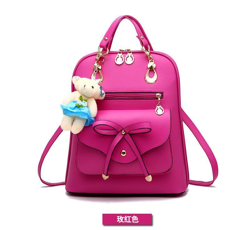 Free Shipping Mixed Color School Backpacks Bookbags Medium Backpacks H126-5 image 6