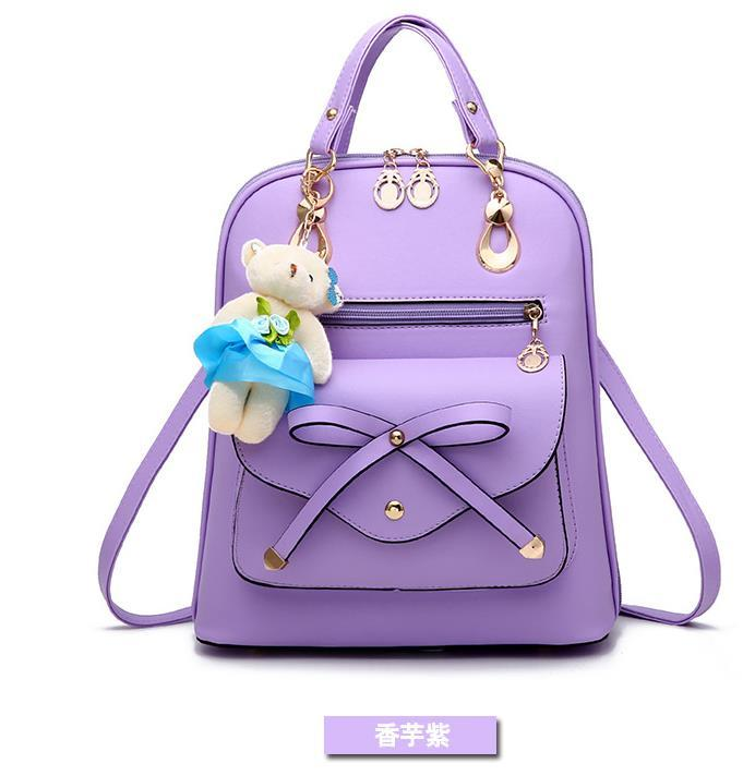 Free Shipping Mixed Color School Backpacks Bookbags Medium Backpacks H126-5 image 7