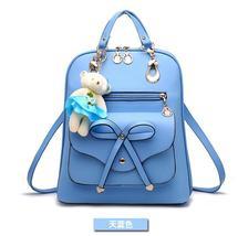 Free Shipping Mixed Color School Backpacks Bookbags Medium Backpacks H126-5 image 8