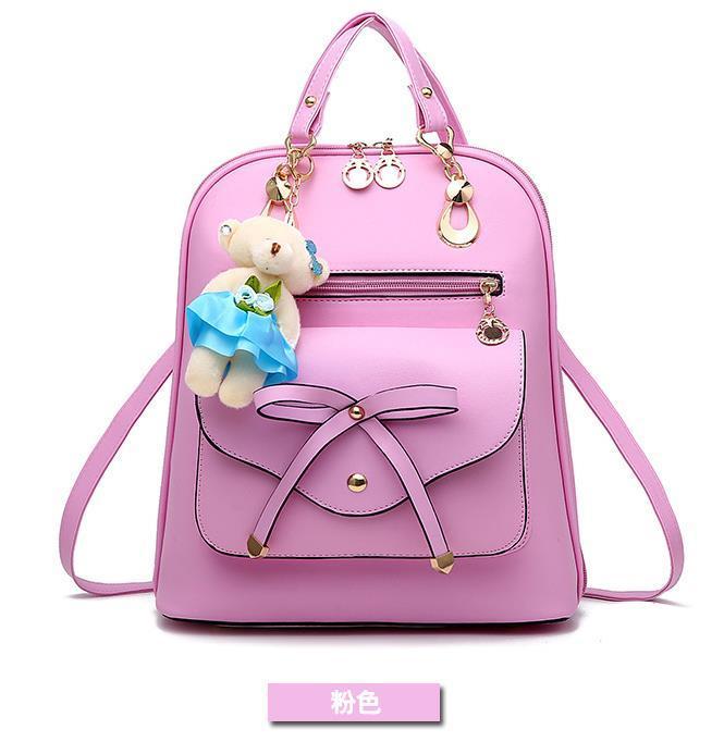 Free Shipping Mixed Color School Backpacks Bookbags Medium Backpacks H126-5 image 9