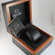 JAGUAR WATCH, SWISS MADE, SAPPHIRE CRYSTAL, 44 MM WORKED CASE BLACK LEATHER BAND image 4
