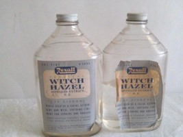 Vintage Rexall Witch Hazel One Pint Glass Bottl... - $16.83