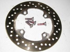 Kawasaki ZX6RR 04, ZZR600 05-08 rear brake rotor + bolts - $50.00