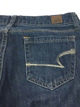"American Eagle Real Flare Denim Blue Jeans Women's 4 Regular 31"" Inseam - $12.54"
