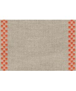 "27ct Checkers 5.9""w x 18"" (1/2yd) 100% linen Mill Hill - $11.25"
