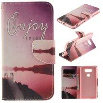 LG G5 Case,GloryShop[Seaside Scenery][Scratch Resistant][Slim Fit][Kicks... - $3.95