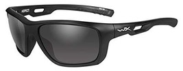 Wiley X CCTTN01D Titan Sunglasses Rx Rim & Grey Lens Matt Frame, Black - $78.89