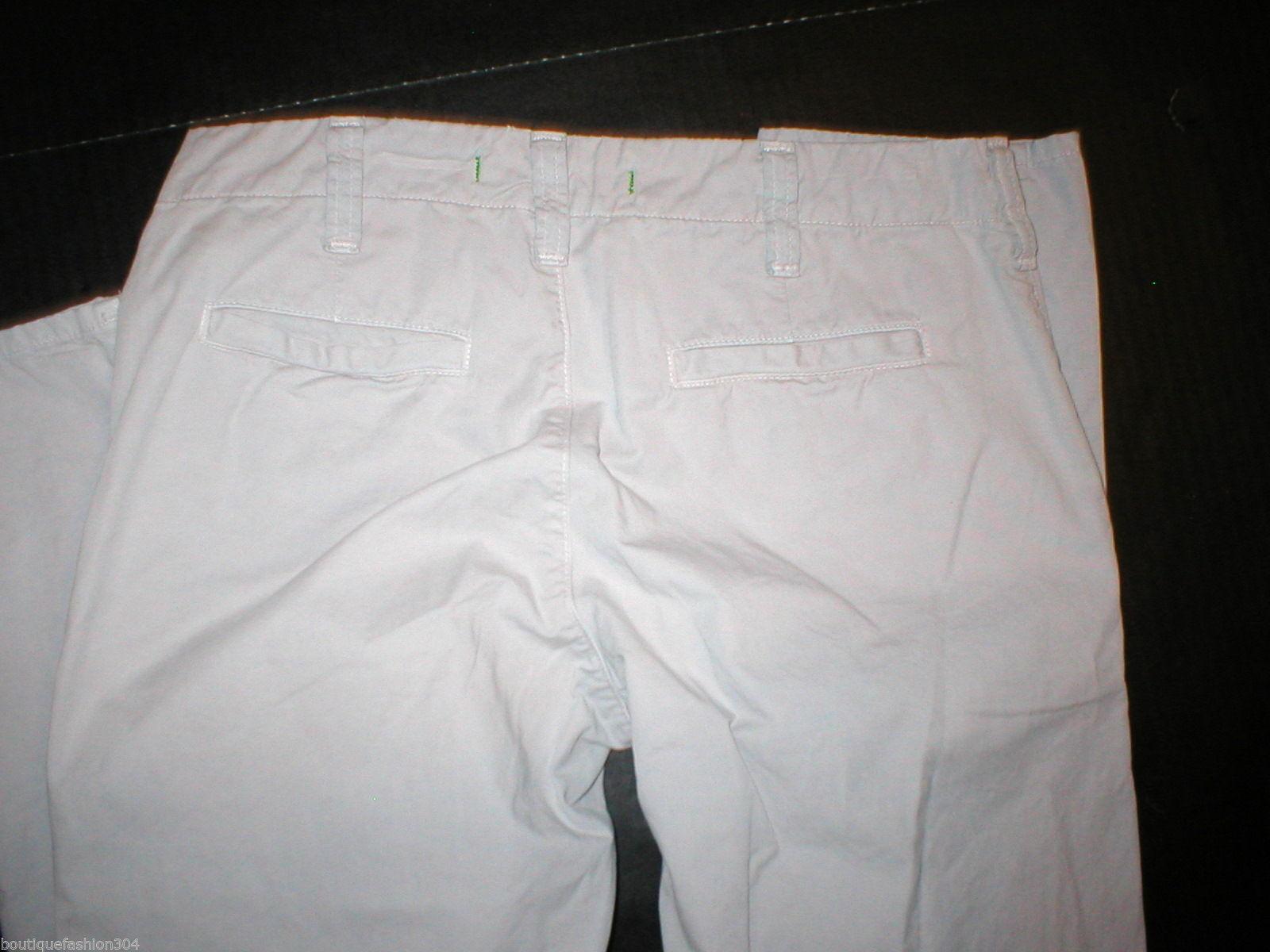 New J Brand Jeans Pants Khaki 25 28 X 27 Crop Womens Skinny Capri Khakis Twill image 3