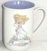 Precious Moments Coffee Mug Cindy Ceramic Tea Vintage Personal Gift 1989... - $34.95