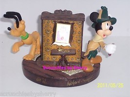 Walt Disney Resort Mystery Figurine Mickey Pluto 2002 Limited Edition 1200 - $34.97