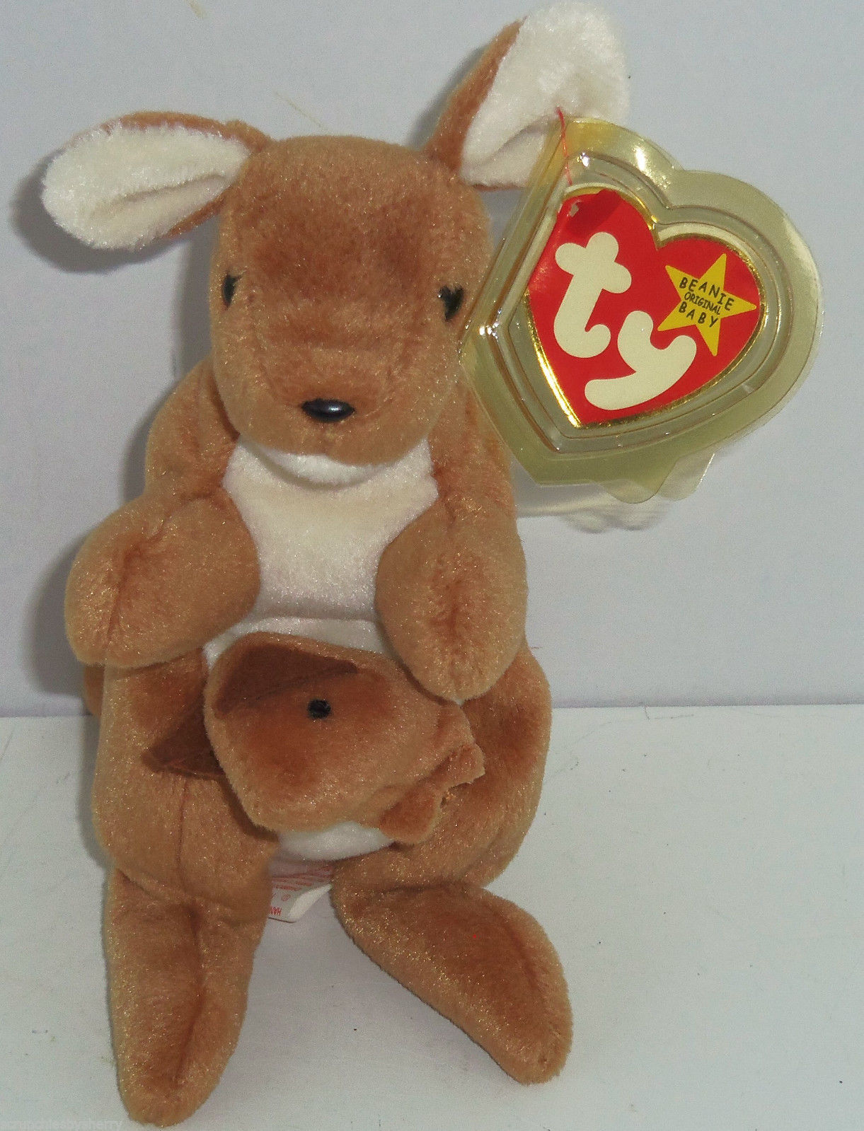 Pouch Ty Beanie Baby Babies Kangaroo 1996 and 18 similar items. S l1600 874c571cf143