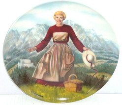 Sound of Music Collector Plate Movie Knowles Julie Andrews Bradford Vint... - $59.95