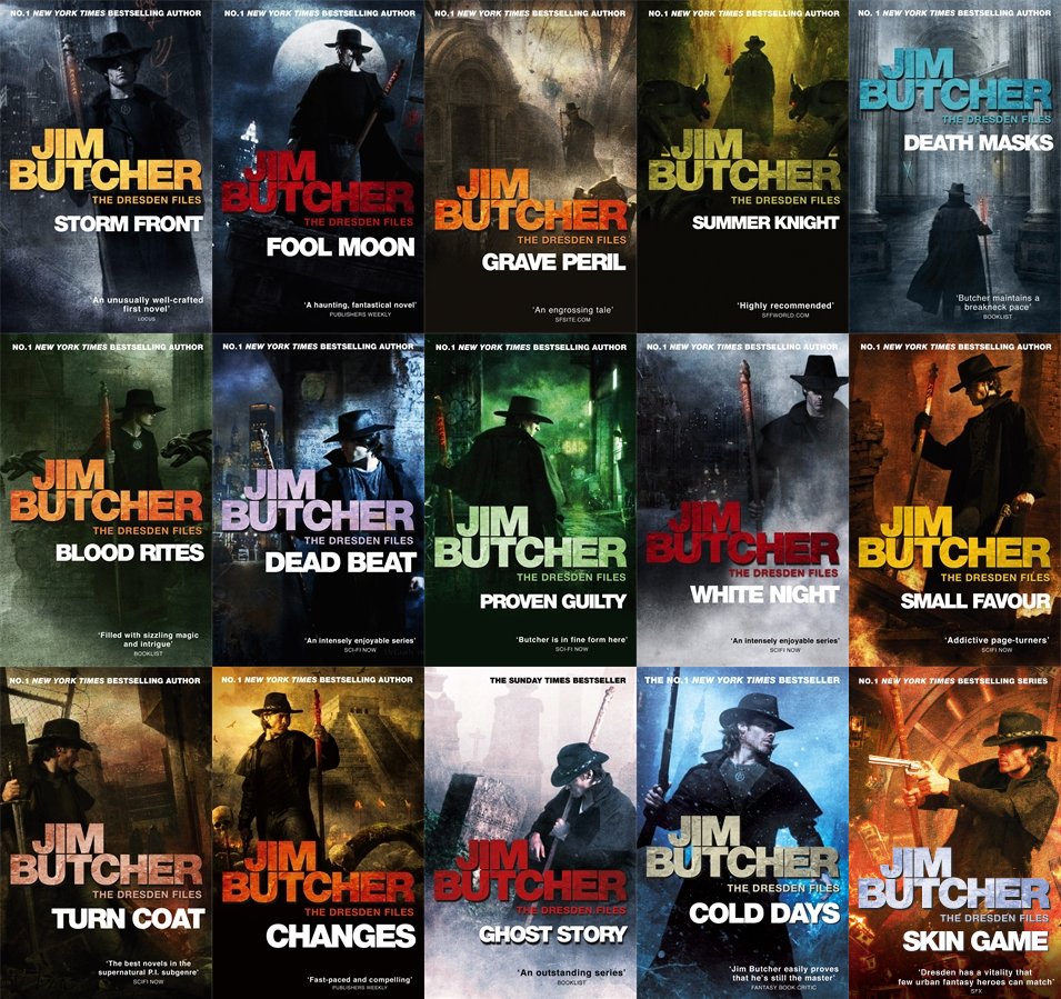 15 audiobooks - Dresden Files complete mp3 Unabridged collection by Jim Butcher