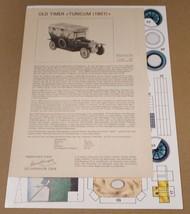 1907 TURICUM 1:25 Scale Modellbogen Cardboard C... - $4.99