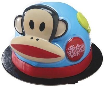 PAUL FRANK JULIUS MONKEY CAKE Decoration Topper CupCake Supplies Birthday Zoo