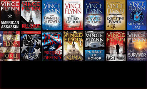 13 audiobooks Mitch Rapp mp3 Unabridged series by Vince Flynn collection set