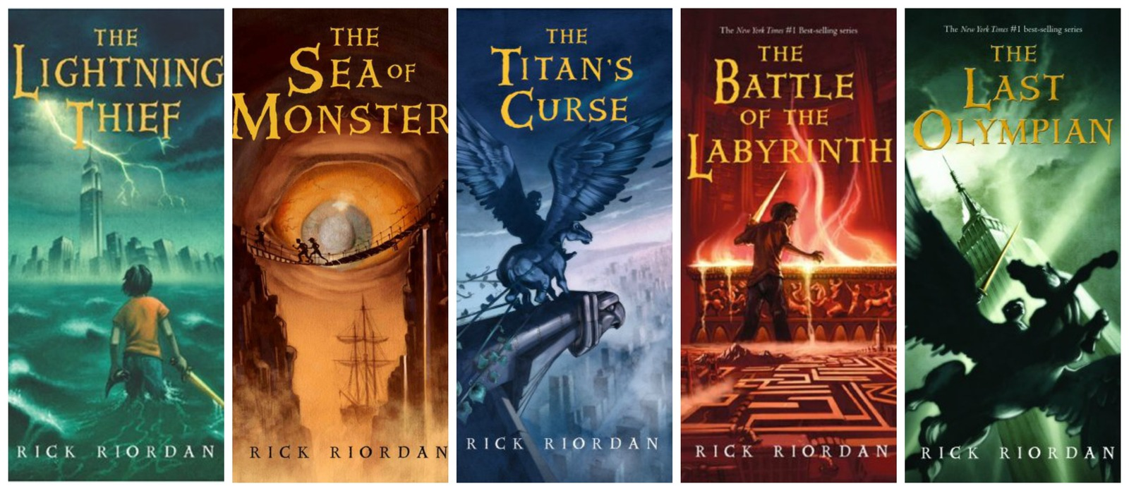 13 audiobooks Rick Riordan mp3 Unabridged set Percy Jackson and the Olympians