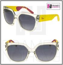 Christian Dior Mydior 3R Crystal Yellow Rubber Signature Sunglasses MYDIOR3R - $296.01
