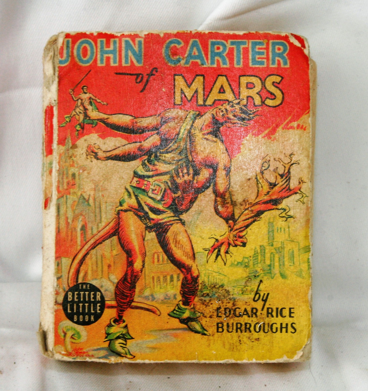Primary image for Edgar Rice Burroughs JOHN CARTER OF MARS Whitman Publishing 1940