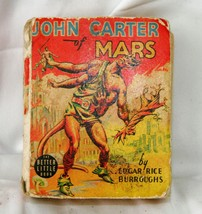 Edgar Rice Burroughs JOHN CARTER OF MARS Whitman Publishing 1940   - $82.05