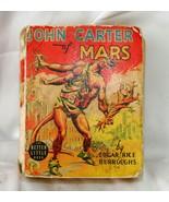 Edgar Rice Burroughs JOHN CARTER OF MARS Whitman Publishing 1940   - $82.05