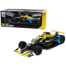 Dallara Indy Car #26 Zach Veach Gainbridge Andretti Autosport NTT IndyCar Ser... - $94.77