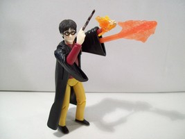 NWOB HARRY POTTER CAST A SPELL HARRY ACTION FIGURE 2002 NEW, LOOSE - $15.63