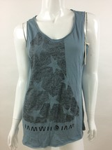 Diesel New Women's T-Crassula-H Sleeveless Top T-Shirt Size M Color Blue - $30.33