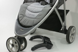 Chicco Viaro Stroller Color Graphite Removable Canopy  BROKEN DRINK HOLDER - $132.14