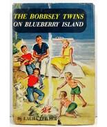 The Bobbsey Twins on Blueberry Island Laura Lee Hope HC/DJ - $4.99