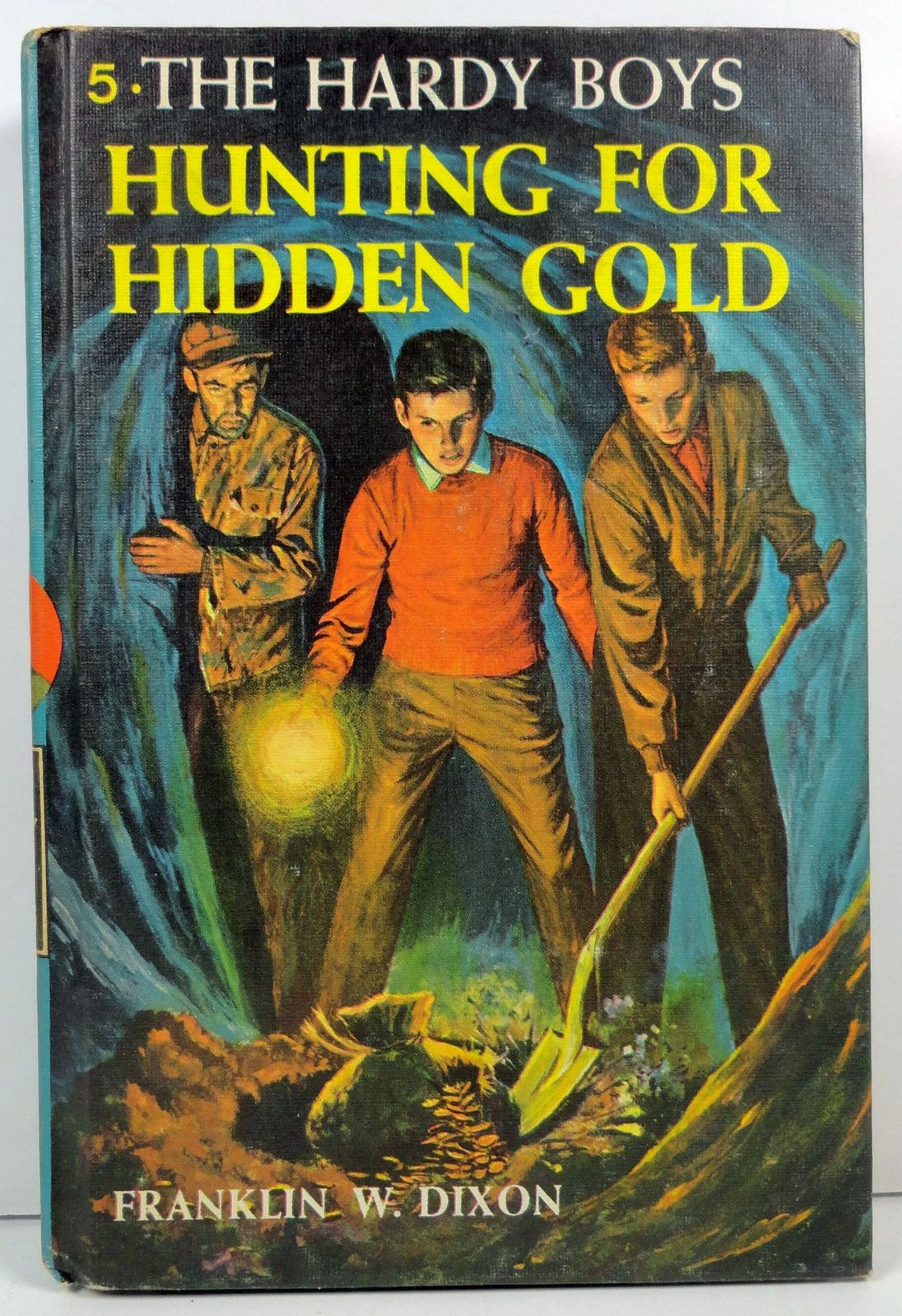 Primary image for The Hardy Boys Hunting for Hidden Gold Franklin W. Dixon
