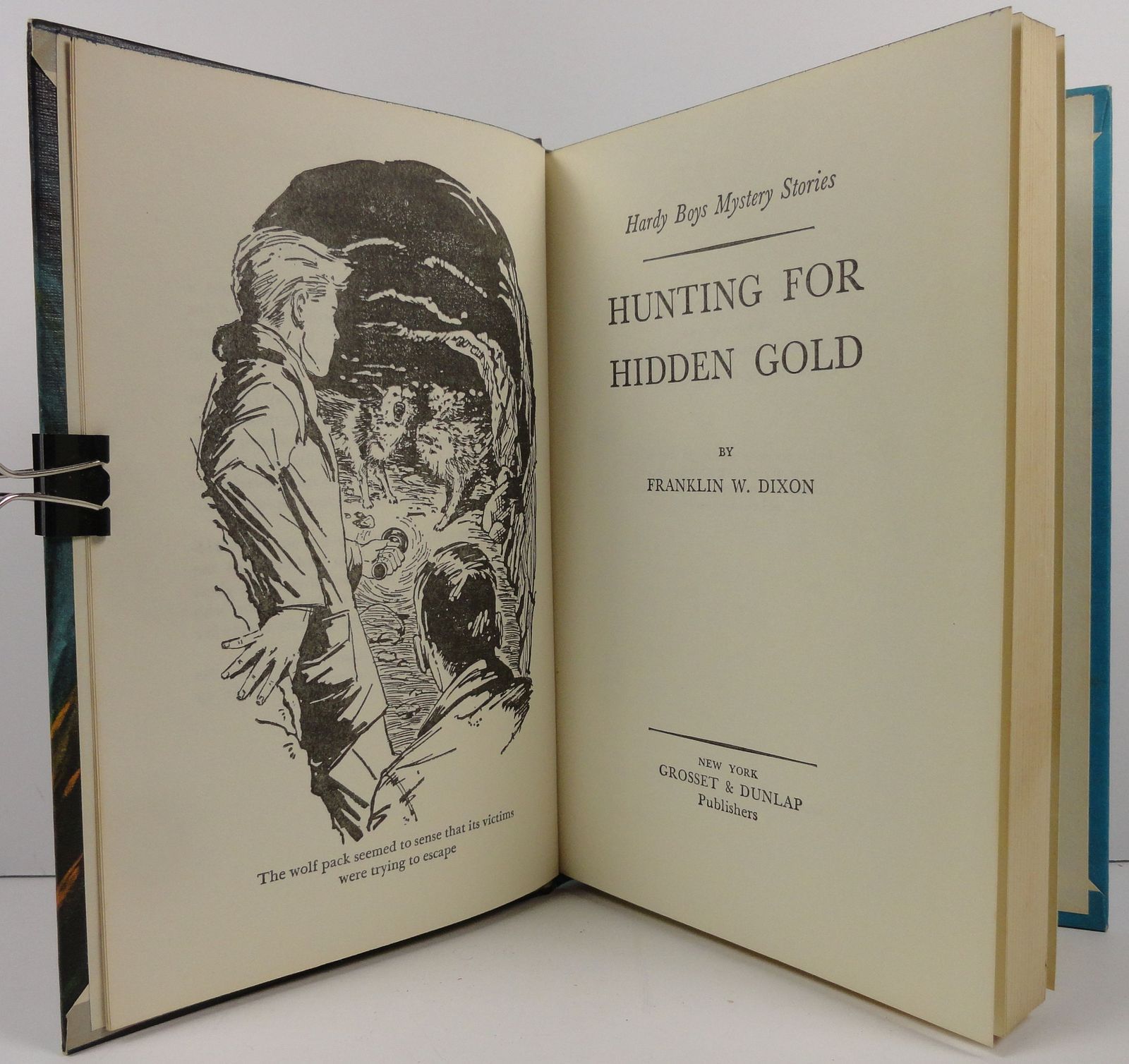 The Hardy Boys Hunting for Hidden Gold Franklin W. Dixon