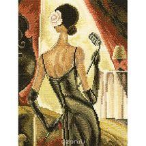 Set cross stitch company RTO.M381 Jazz samba.Razmer 16 / 22cm. - $11.00