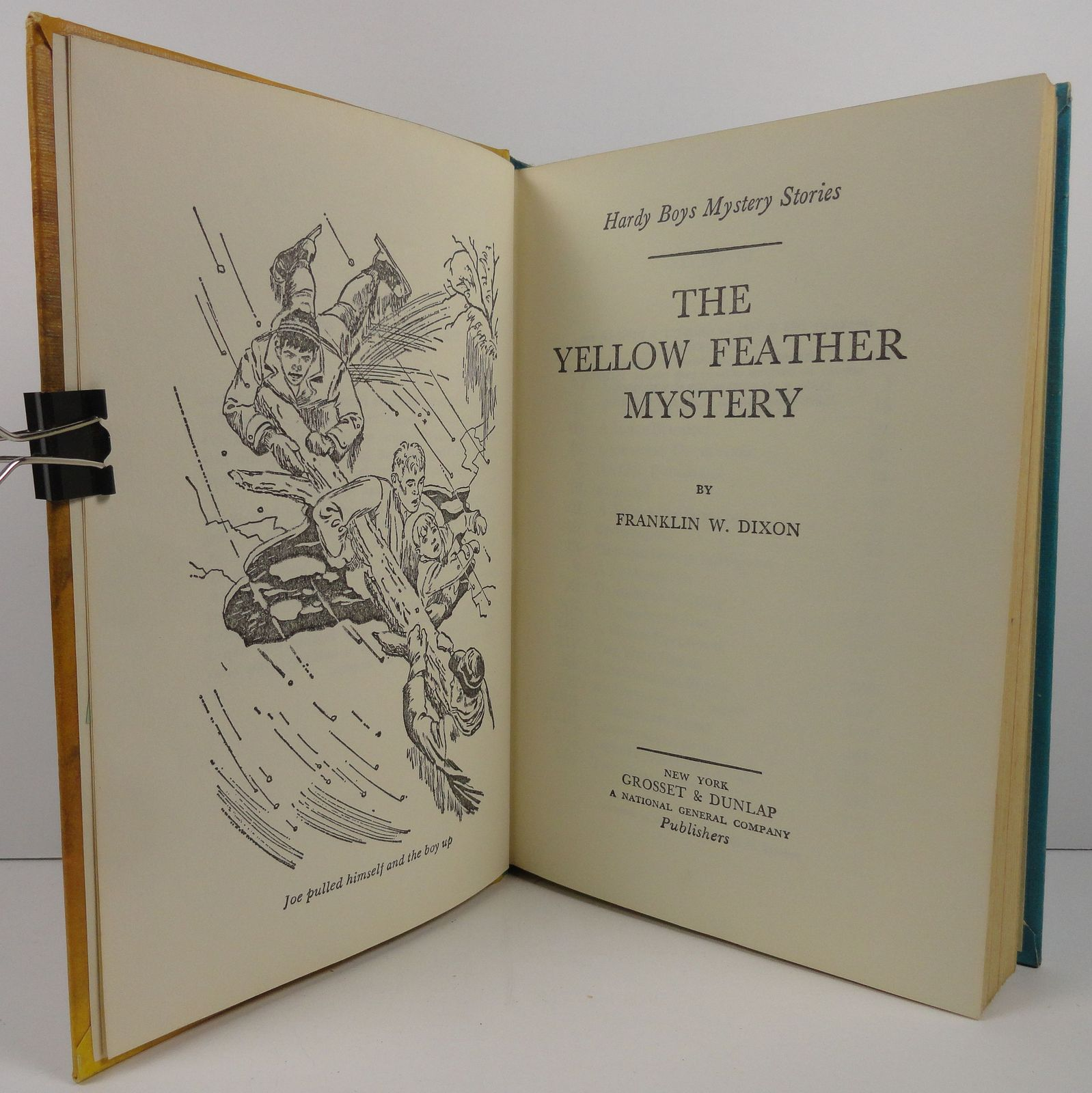 The Hardy Boys The Yellow Feather Mystery Franklin W. Dixon