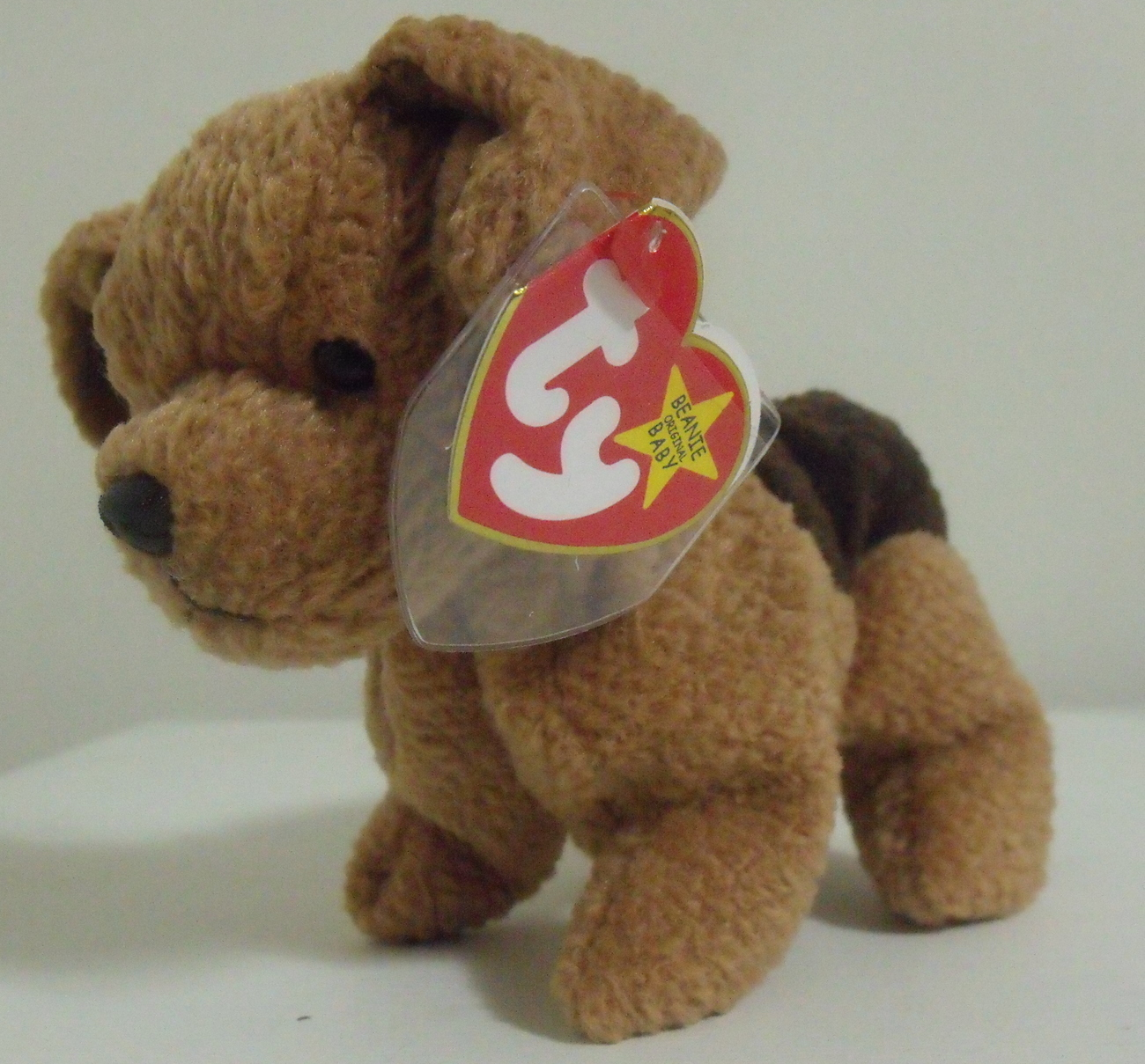 Ty Beanie Babies NWT Tuffy the Dog Retired