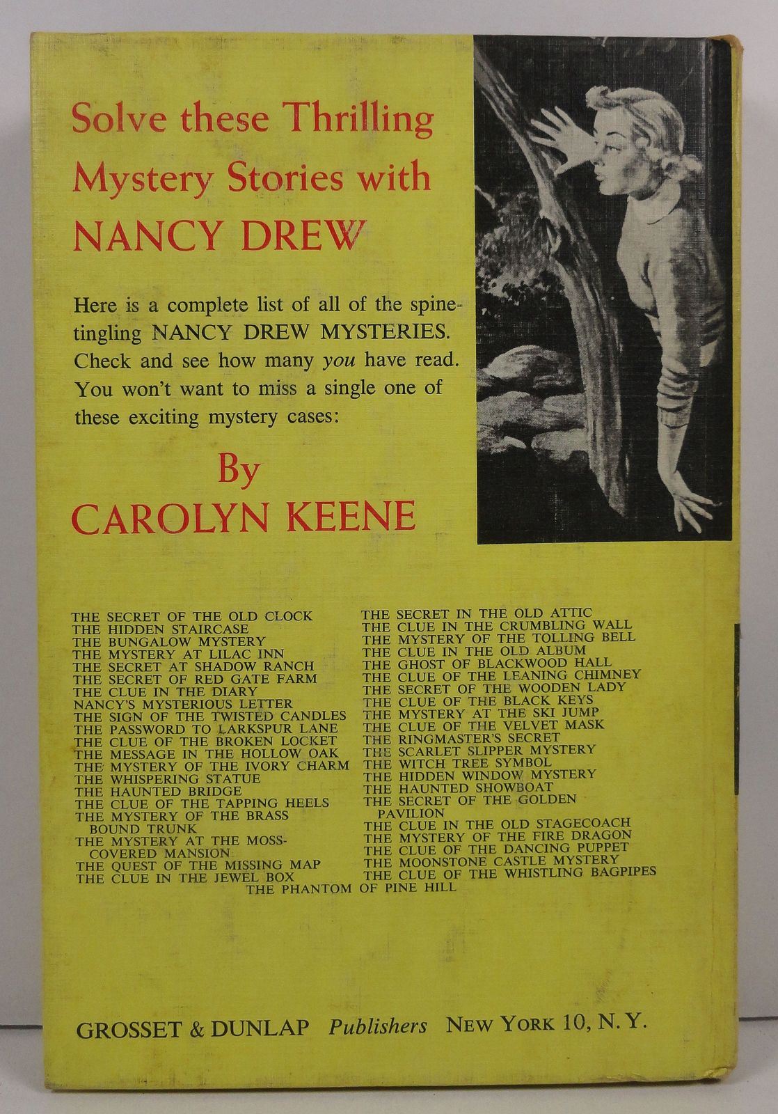 Nancy Drew The Secret of Red Gate Farm by Carolyn Keene