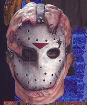 JASON DELUXE OVER THE HEAD LATEX MASK - $40.00