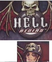 HELL RIDER's helmet - $25.00