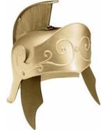 GOLD ROMAN HELMET HEAVY PLASTIC - $35.00